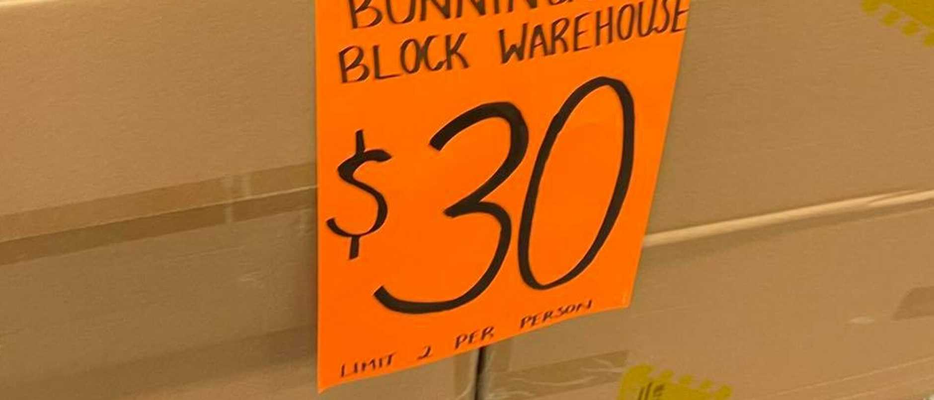 Bunnings Warehouse set hits stores