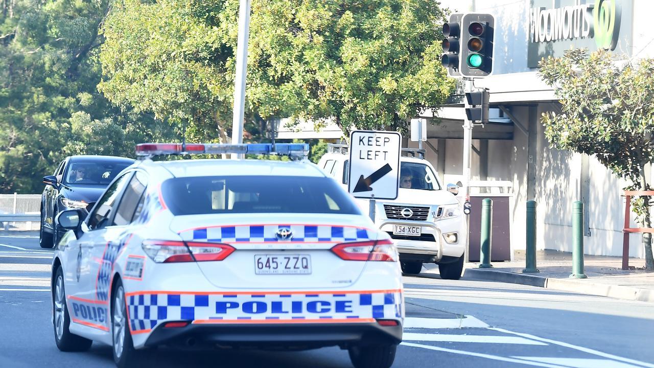 Police on patrol at Lowe Street, Nambour. Photo Patrick Woods / Sunshine Coast Daily.