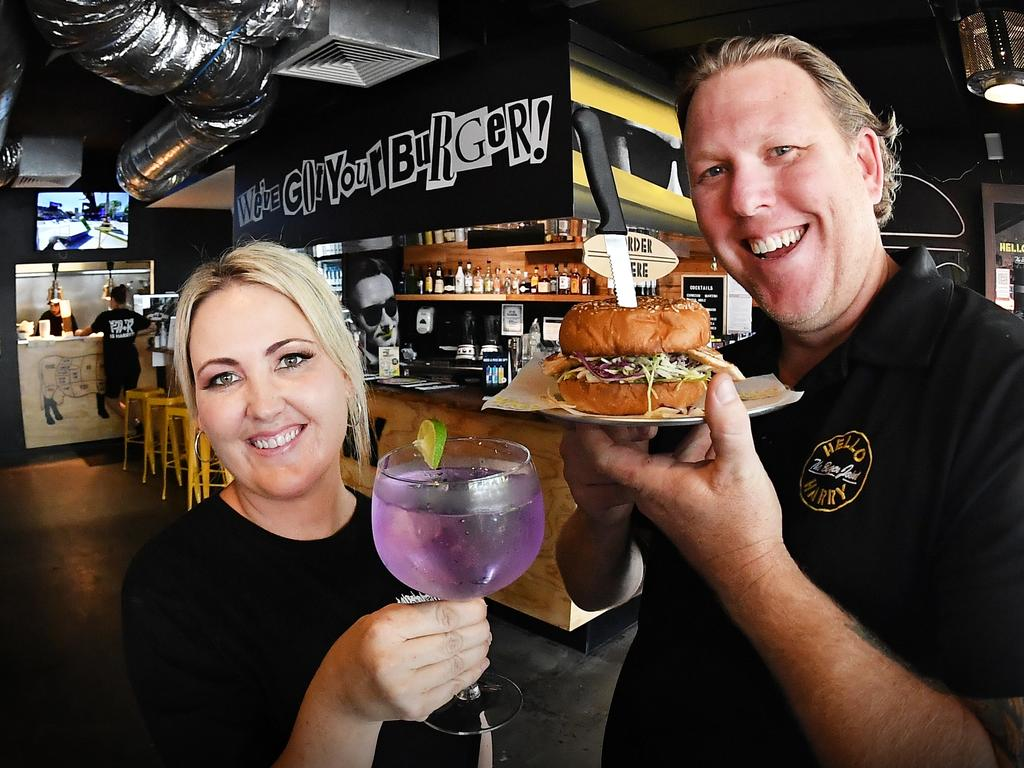 Husband and wife team Scott McClellan and Jacinta Shackell are the new owners of the Ocean St Hello Harry franchise. Picture: Patrick Woods