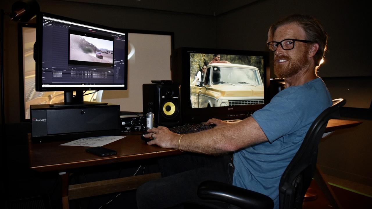 William Gammon at Cumulus Visual Effects headquarters in Byron Bay.
