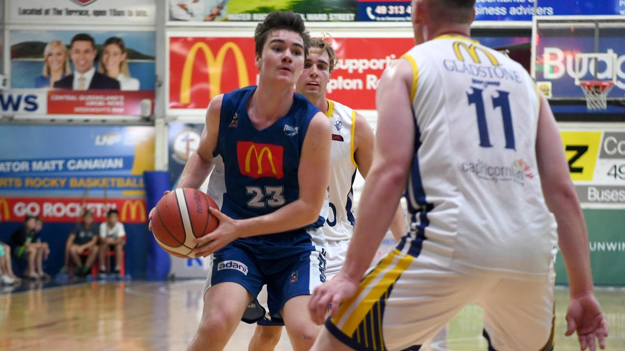 Hayden Richardson has been one of the Rockhampton Rockets most consistent scorers this season. Photo: Jann Houley