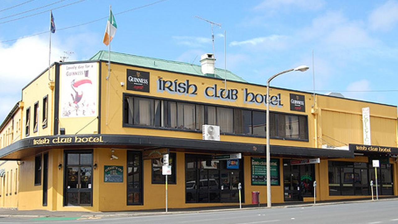 The drunken 27-year-old had been involved in an altercation at the Irish Club Hotel before being taken to the watch house.