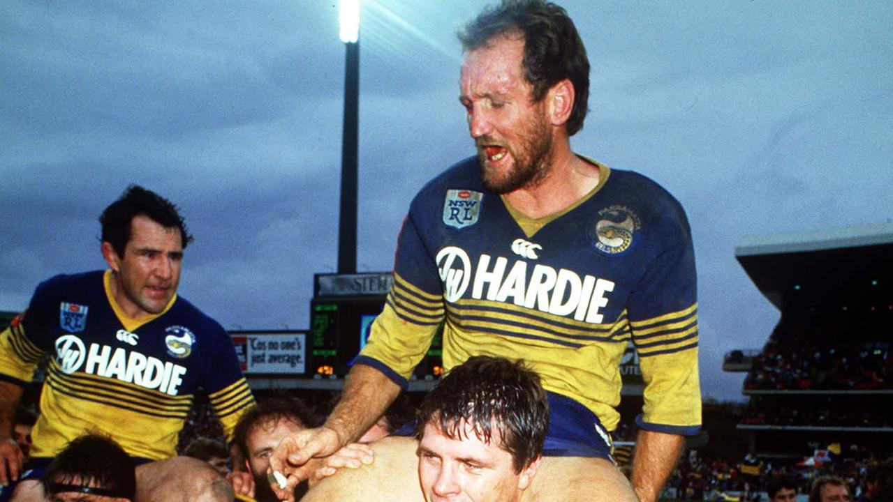 Ray Price's teammates are rallying around him and his wife as they battle cancer. Picture: NRL Photos.