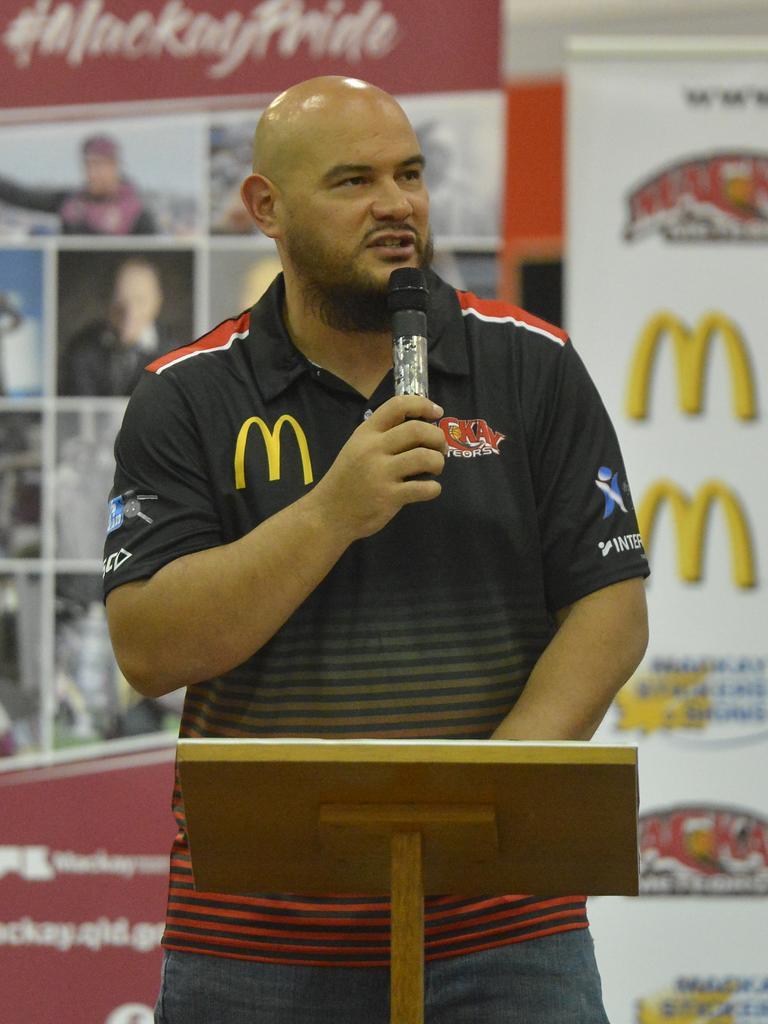 Mackay Basketball NBL1 North general manager Joel Khalu. Photo: Callum Dick