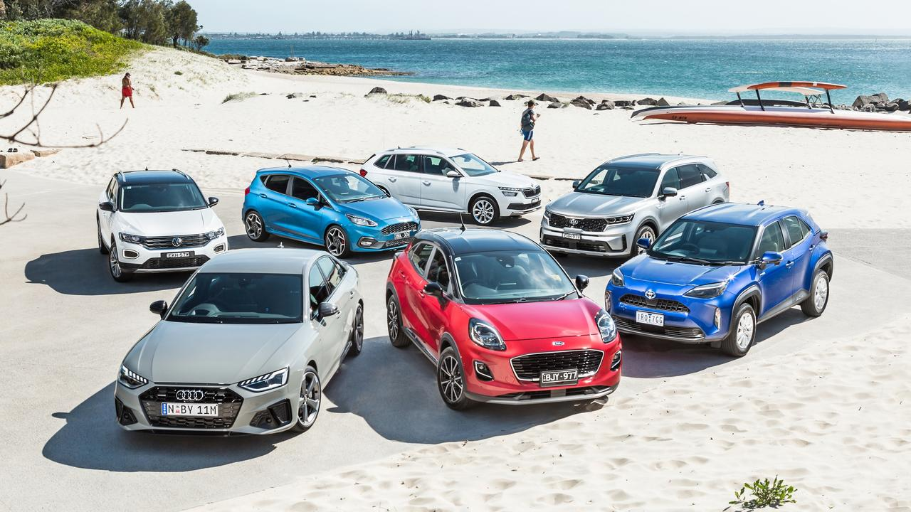 SUVs dominate this year's field as car makers adapt to buyer demand more high-riding machines. Photo: Thomas Wielecki