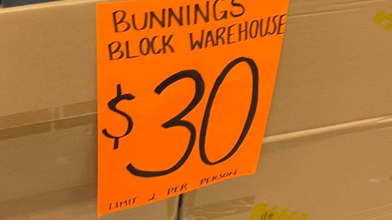 Bunnings Warehouse set hits stores