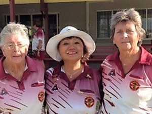 Sarina ladies bowls club triples championship
