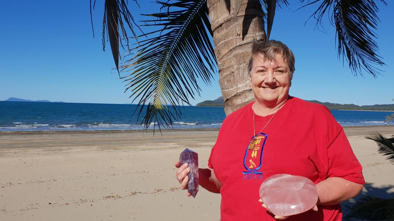Author Cynthya Popperwell is also the founder of the Mackay Health and Lifestyle Expo. Picture: Tracey Petith