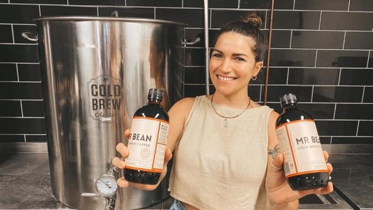 Polly Muller launched Mr Bean five years ago and has been bringing cold brew coffee to the region ever since. Picture: Ashleigh Clarke