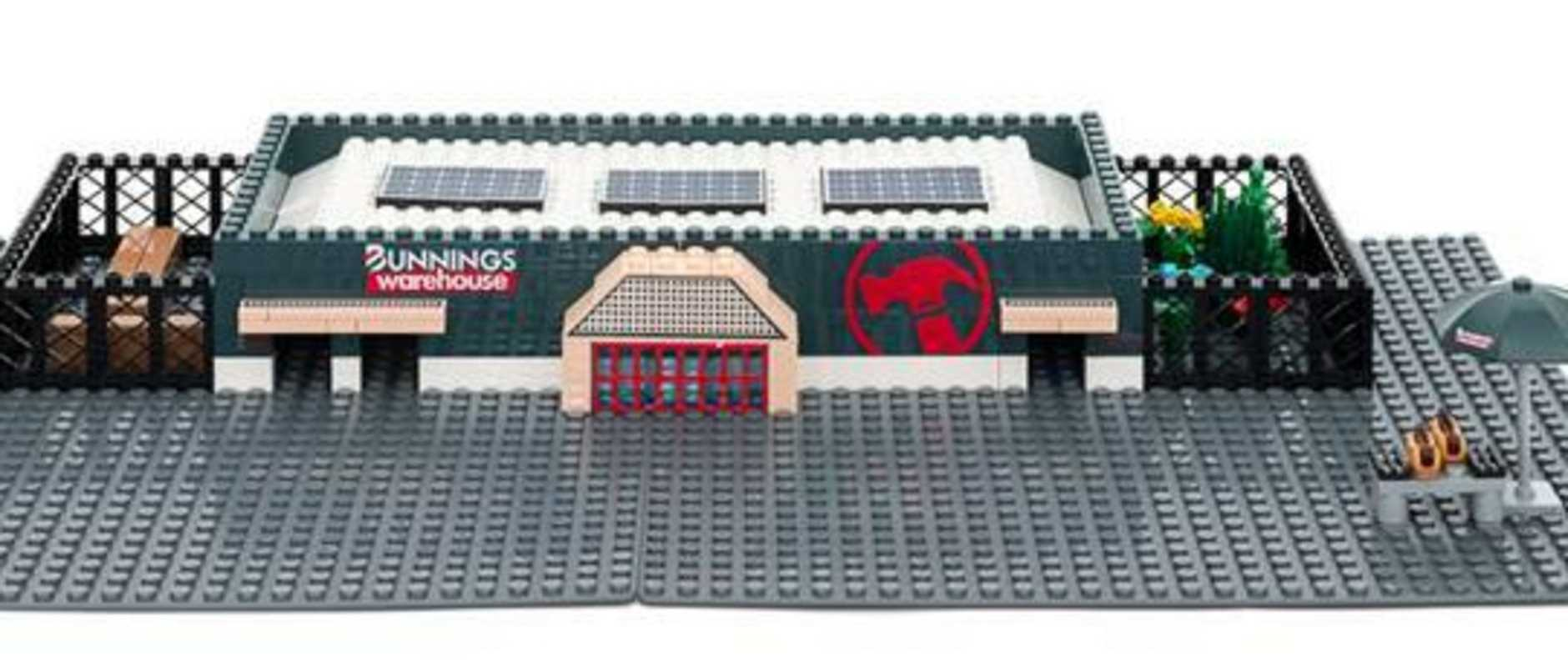 Look what's back – the Bunnings Block Warehouse set. The $30 Lego kit also features a plant-filled nursery, timber yard and everyone's favourite sausage sizzle stand.