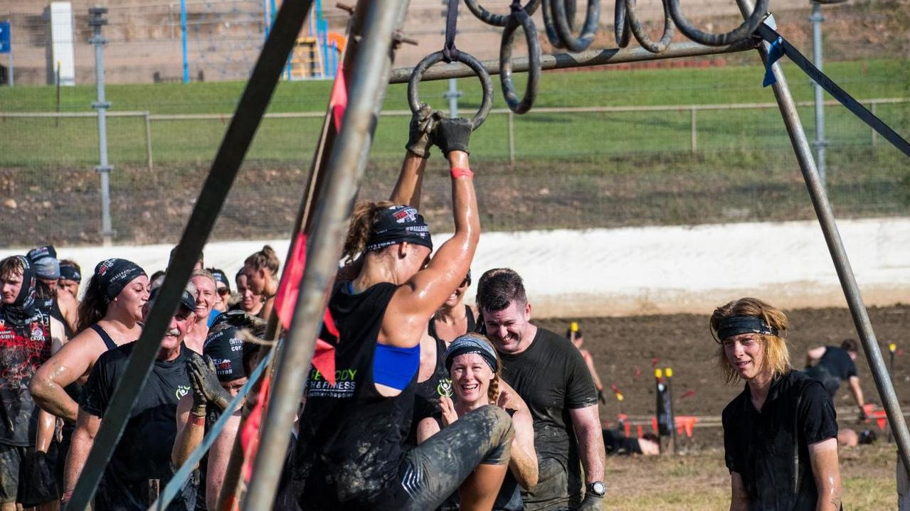 There will be about 40 obstacles on the 5km course at Six Mile Raceway. Photo: Contributed by Obstacle Hell.