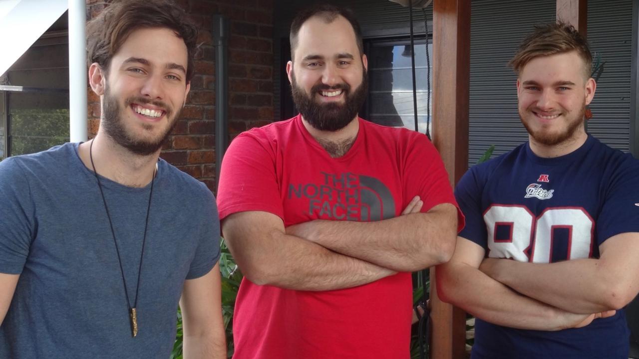 Jenny Woodward's sons : Alex, Sam, Michael