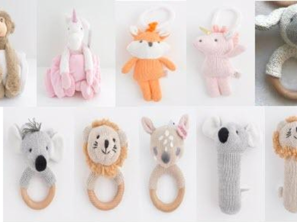 Kaisercraft cuddle blankets, pram accessories and baby and plush rattles are being recalled