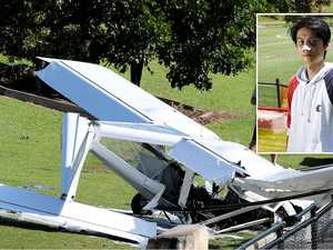 'I was in big trouble': Pilot relives miracle crash landing