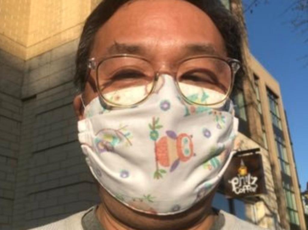 PBS NewsHour Award Winning Correspondent John Yang took part in a COVID vaccine trial. Picture: @johnyangtv/ Twitter