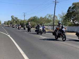 Motorbikers flock to Roma for huge Christmas charity run