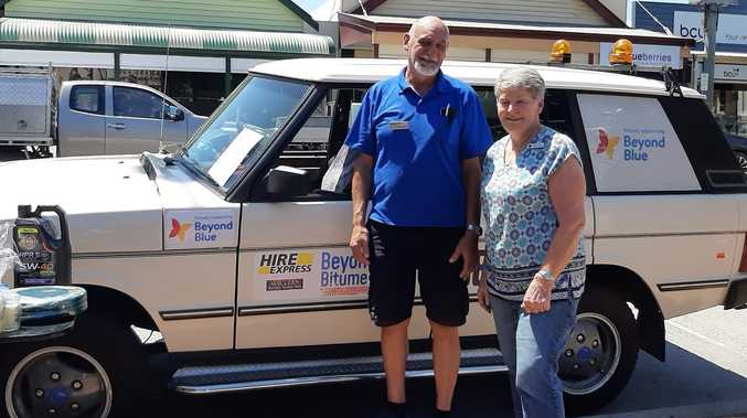 Clarence couple put pedal to metal for mental health