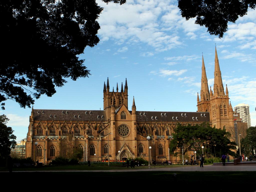 St Mary's Cathedral in Sydney.
