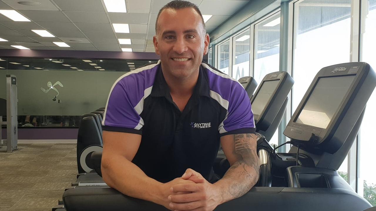 Anytime Fitness Mackay club owner Matthew Chilingirian.