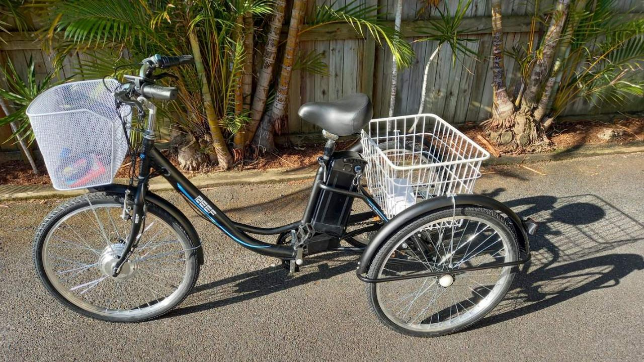 Coffs Harbour resident Greg McCarthy was left angry and frustrated after an electric trike he bought for a friend was stolen days after it was delivered.