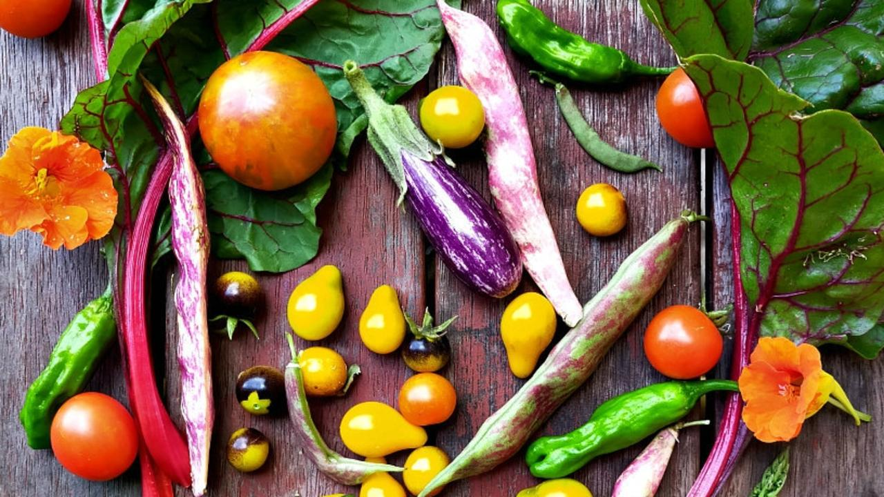 FRESH IS BEST: Warwick gardener Krista Bjorn shares what's come out of her garden this week, including some fresh veggies.