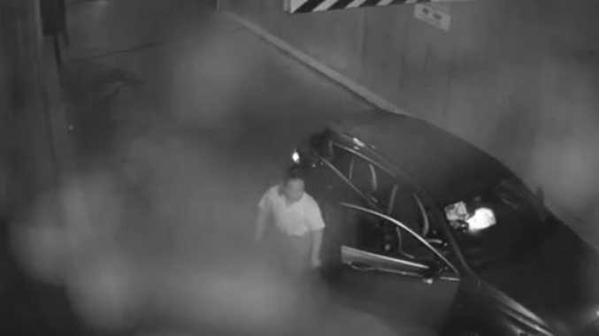 Shocking video shows man king-hit in carjacking