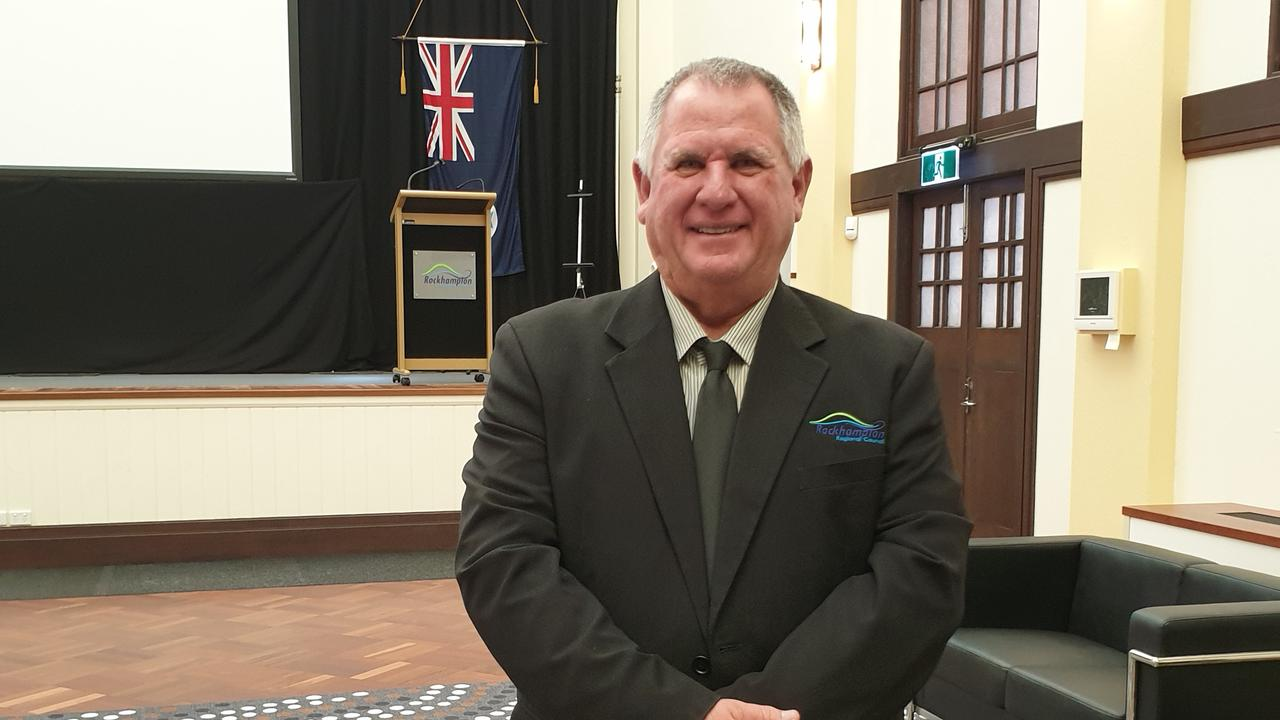 Acting Mayor Neil Fisher was grateful for the opportunity to showcase our region during the Developing Northern Australia Conference. Picture: Aden Stokes