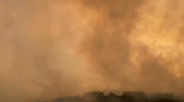 Fraser Island inferno