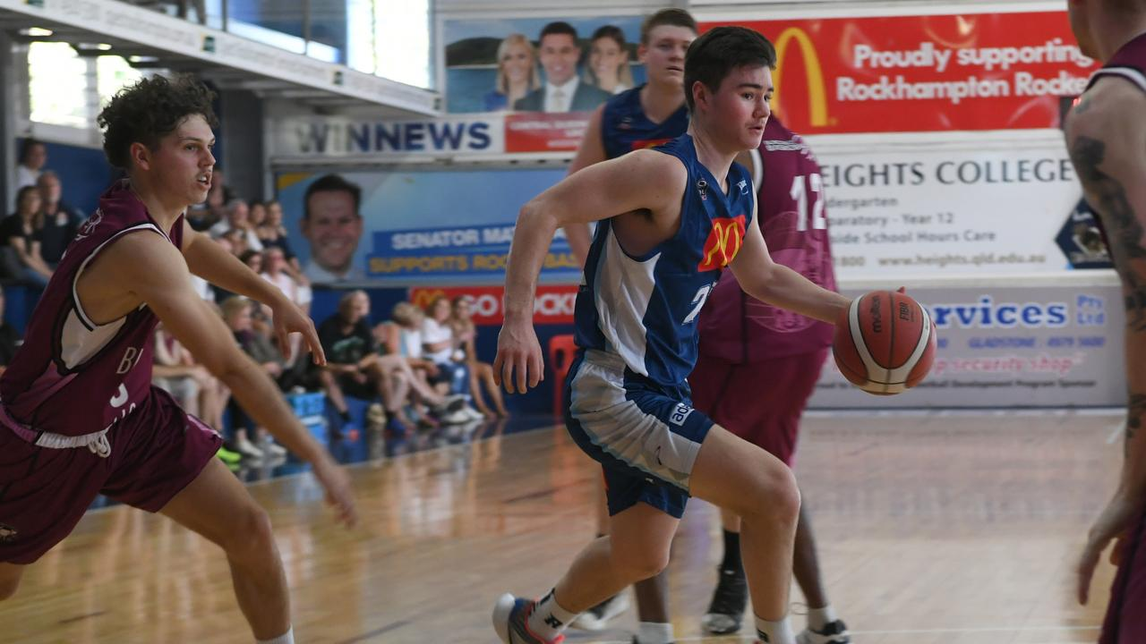 Hayden Richardson led the scoring for the Rockhampton Rockets in their CQ Cup grand final against Mackay Meteors. Photo: Jann Houley