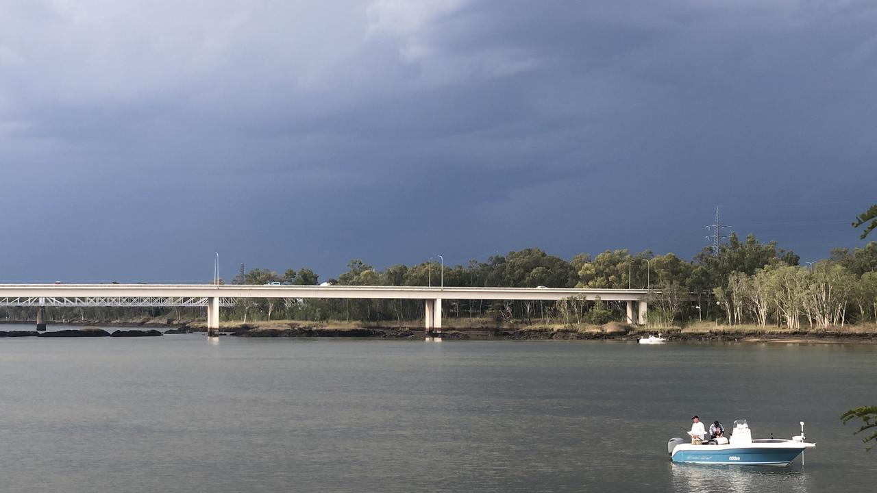 The Fitzroy Bridge over the Fitzroy River.
