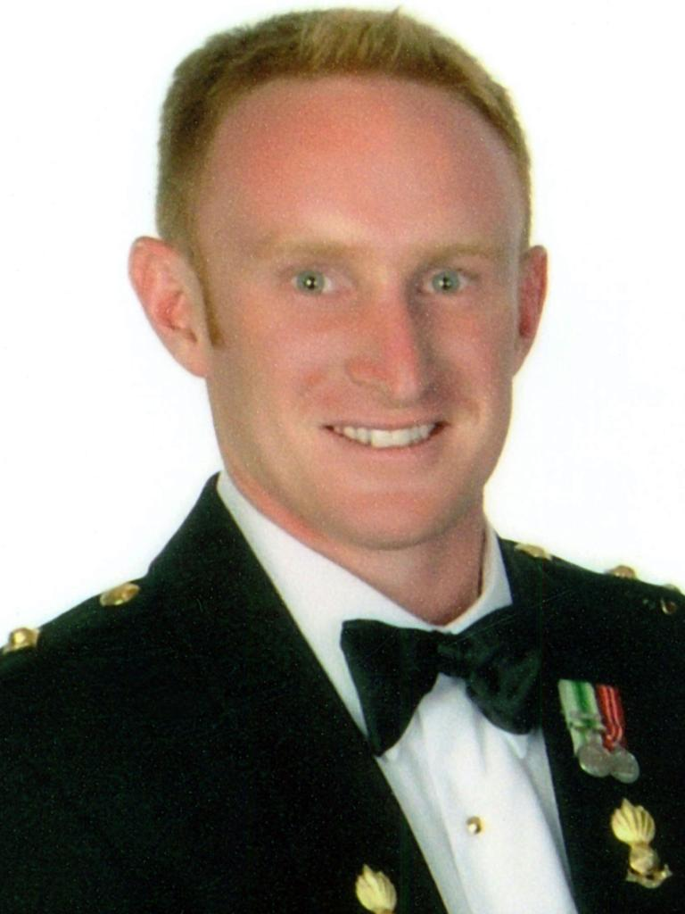 Lieutenant Michael Fussell, 25, died when he stood on the trigger of an insurgent bomb while on foot patrol on November 27, 2008.