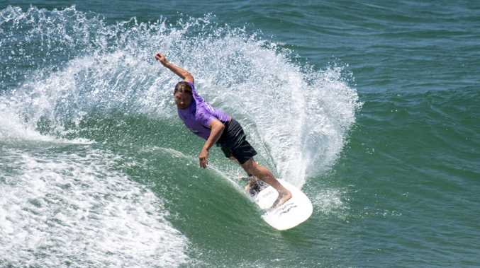 PICTURES: Hat trick for Le-Ba after surf prowess dominates