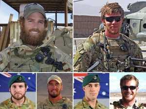Defence backflips on SAS bravery medals