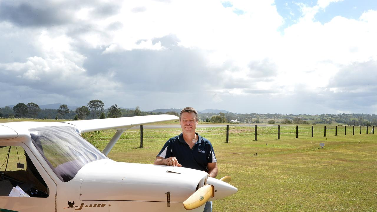 Cumulus Airpark developer Ray Gresham started his work in opening up the airport more than a decade ago. Photo Renee Albrecht/Gympie Times