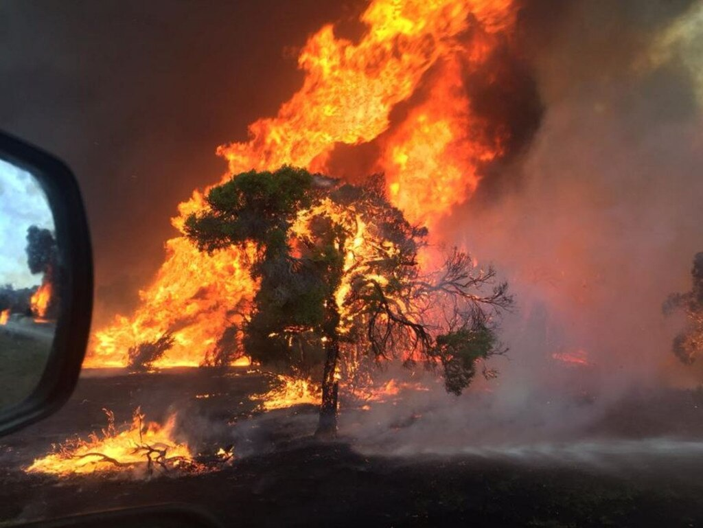 A local fire ban will be in place from 11.55pm tonight for residents in the Bundaberg, Fraser Coast, North Burnett, South Burnett, Cherbourg, Gympie, Noosa and Sunshine Coast areas. File Photo.