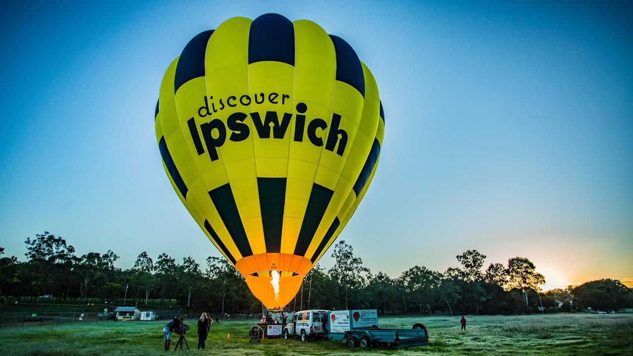 If you're ready to face your fear of heights, make a day of it by ballooning above Ipswich.