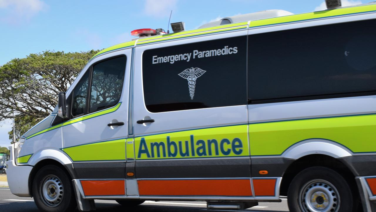 Paramedics are treating a person in a serious condition after a workplace incident in Capalaba. Picture: Heidi Petith