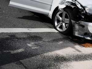 Four-car smash on Coast road