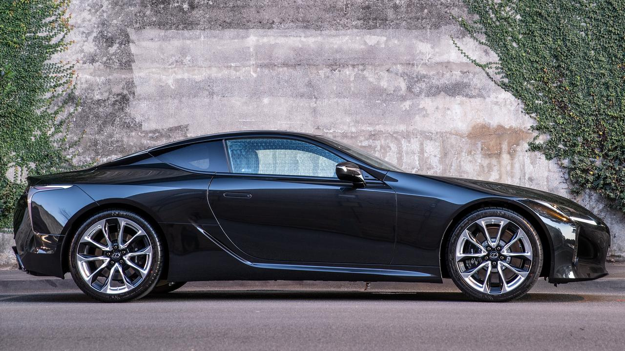 Lexus updated its LC Coupe this year with improved performance and handling.