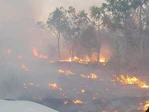 Whitsunday ban extended as conditions 'perfect' for fires