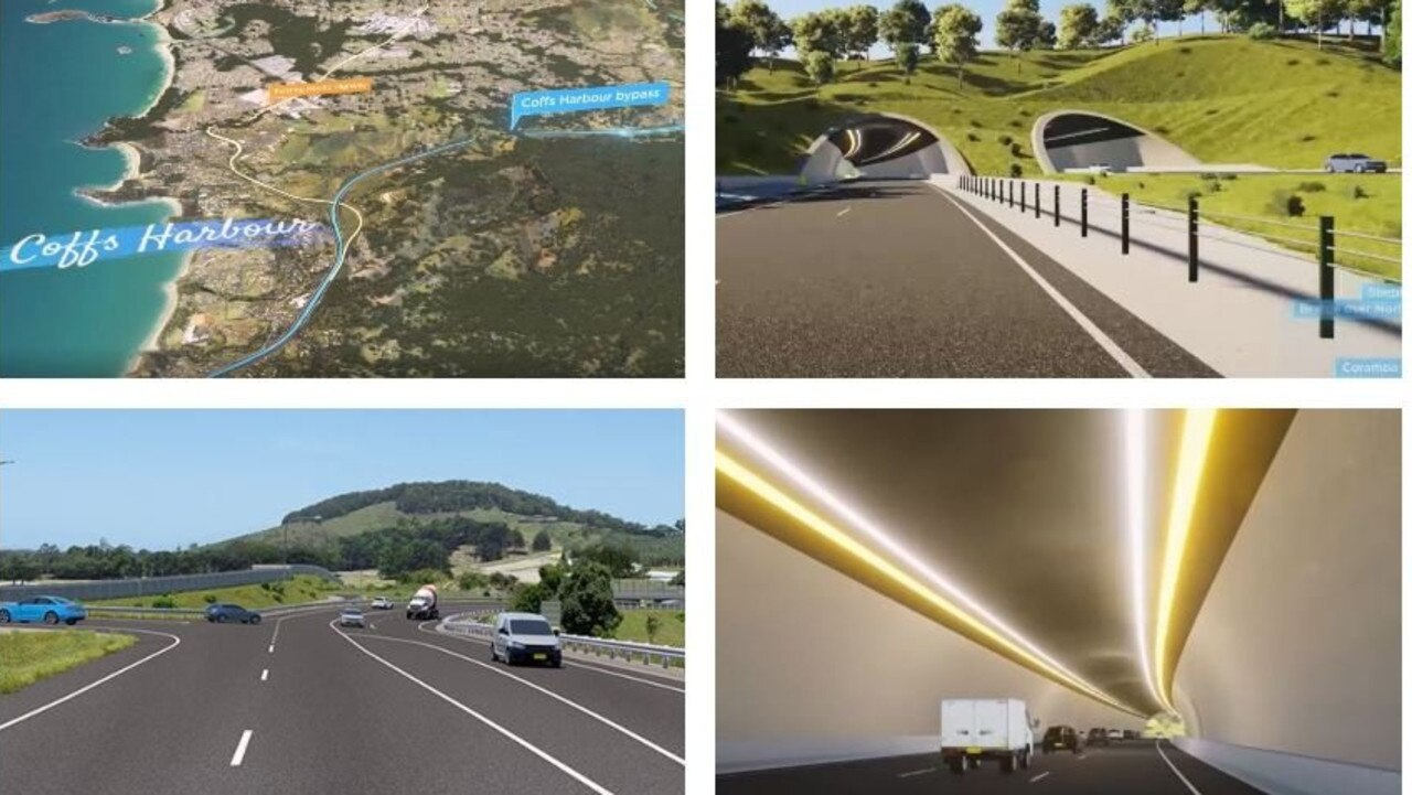 A virtual drive on the $1.2 billion Coffs Harbour Bypass.