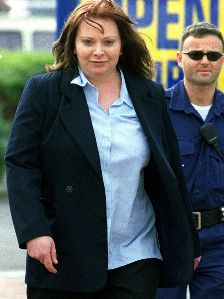 Michelle Burgess is often referred to as a 'Black Widow' for the incredible sexual power she was able wield over men to do her bidding. Picture: Supplied.