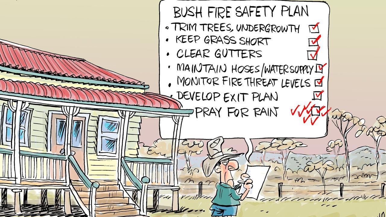 Harry's view on bushfire preparation.