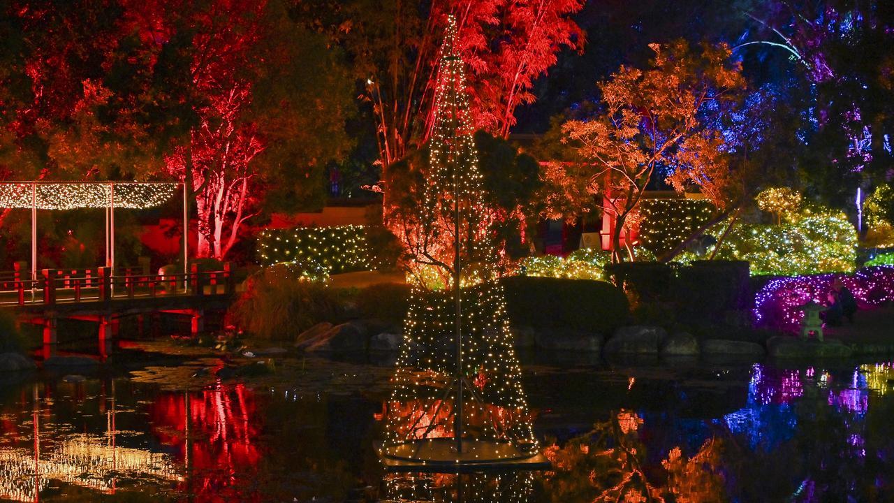 Christmas Wonderland in Nerima Gardens at Queens Park. Picture: Cordell Richardson