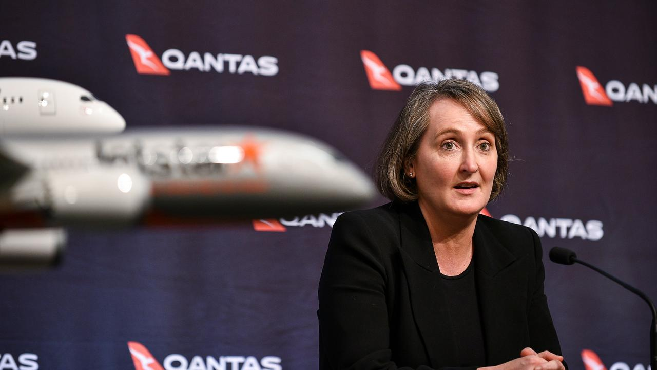 Qantas chief financial officer Vanessa Hudson. Picture: NCA NewsWire/Flavio Brancaleone