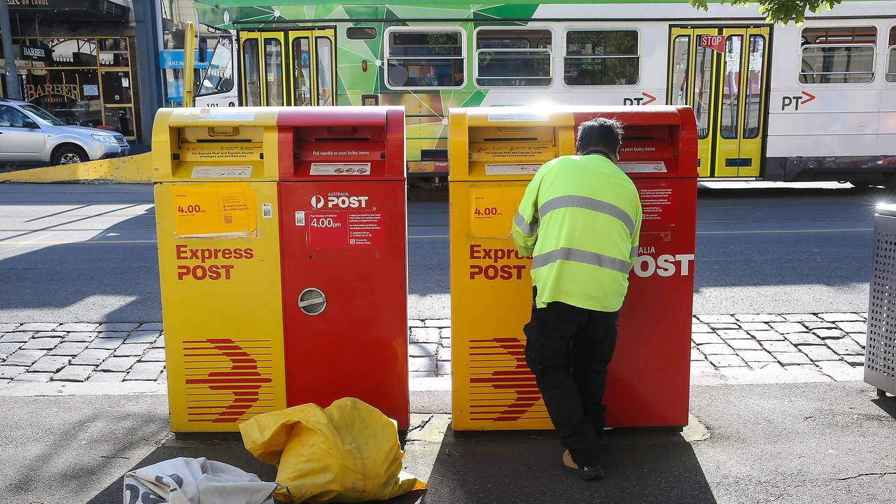 Australia Post is hiring 5000 new employees ahead of what it says will be its 'biggest Christmas ever'. Picture: Ian Currie/NCA NewsWire