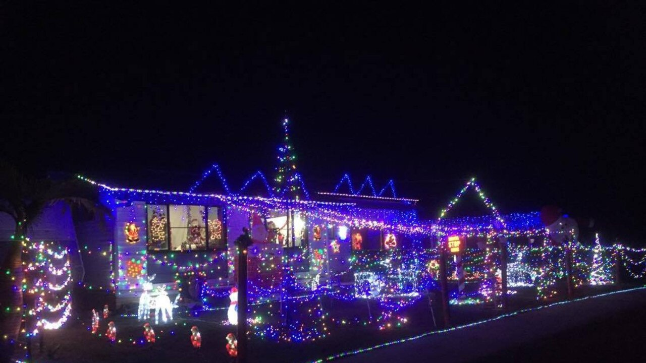 Karen Grills has been decorating her house for Christmas in Gympie for 14 years. 20 Leonard St