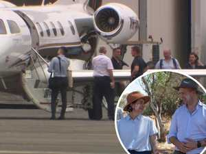 MP ducks questions after chartering private jet