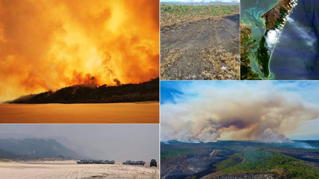 Fraser Island fire: Businesses, mayor demand inquiry into handling of blaze