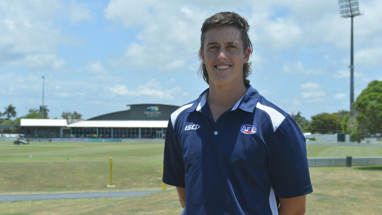 AFL Mackay competitions manager Josh Rhodes. Photo: Callum Dick